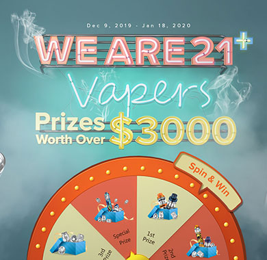 We are 21 vapers